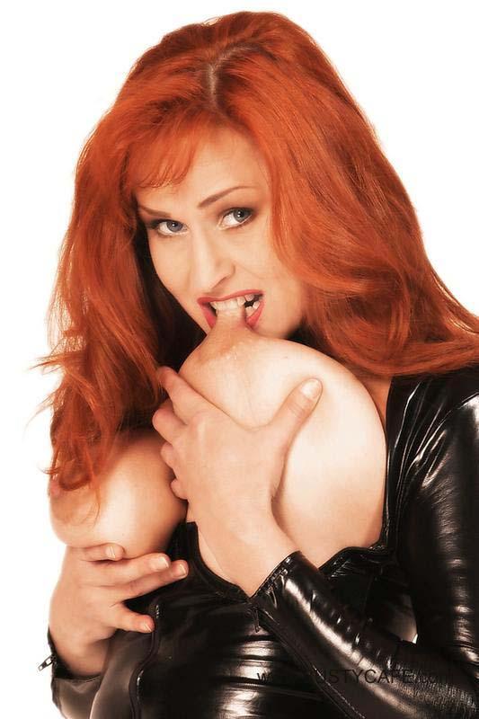 kinky redhead