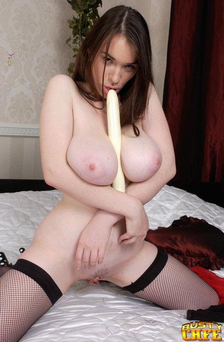 Dildo Between Boobs 115